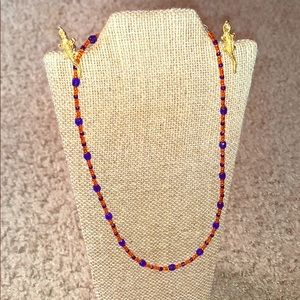 Jewelry - University of Florida gators necklace + earrings